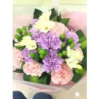 Carnation & Freesia bouquet
