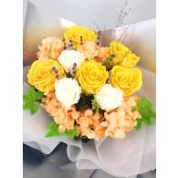 Princess Bouquet Yellow