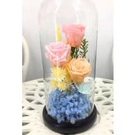 小王子玻璃玫瑰 XL