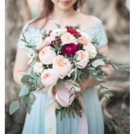 Juliet 玫瑰花球