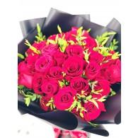玫瑰 40 真誠的愛