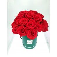 四季玫瑰圓形禮盒