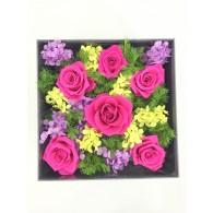 紫紅玫瑰園禮盒 L