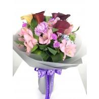 康乃馨馬提蘭花束