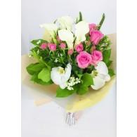 馬提蘭玫瑰花束