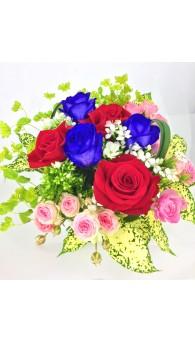 藍玫瑰 Freedom 花束