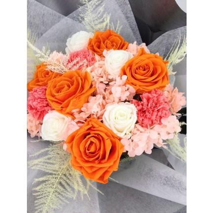Princess Bouquet Orange