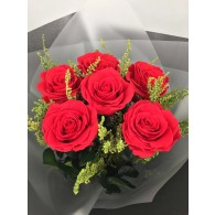 Princess Bouquet Red