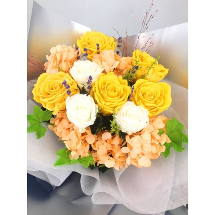 Princess Bouquet Yellow