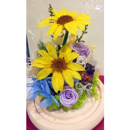 Crystal Sunflower